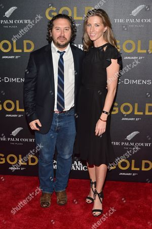 Teddy Schwarzman and Ellen Zajac
