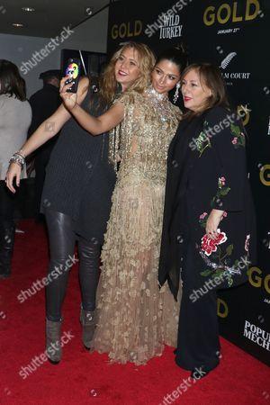 Ofira Sandberg, Camila Alves and Lorraine Schwartz