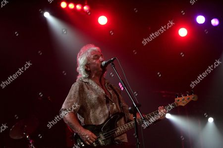 Terry Uttley of British Rock Group 'Smokie' Performs On Stage During a Concert at the Olympic Park in Seoul South Korea Saturday 23 September 2006
