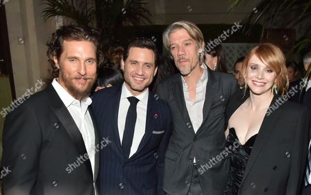 Matthew McConaughey, Edgar Ramirez, Stephen Gaghan, Bryce Dallas Howard