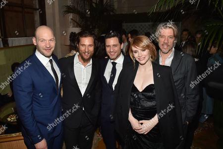 Stock Picture of Corey Stoll, Matthew McConaughey, Edgar Ramirez, Bryce Dallas Howard, Stephen Gaghan