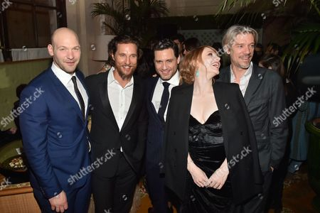 Editorial image of 'Gold' film premiere, after party, New York, USA - 17 Jan 2017