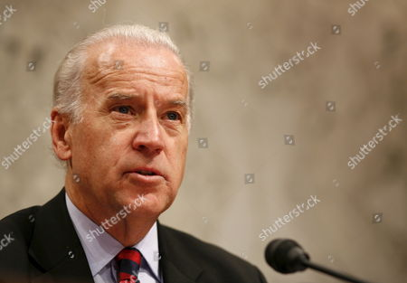 U S Senator Joseph Biden (democrat / Delaware) Chairman of the Senate Foreign Relations Committee Questions Former National Security Advisor Brent Scowcroft During a Hearing On Iraq On Capitol Hill in Washington Dc On Thursday 01 February 2007