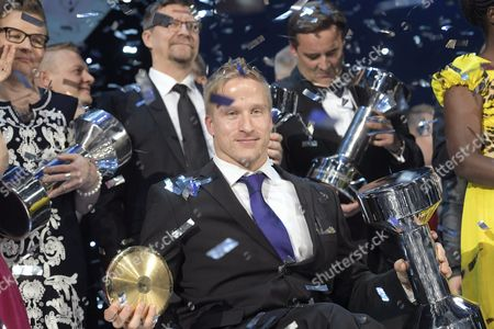 Stock Photo of Leo-Pekka Tahti, Finland's athlete of the year