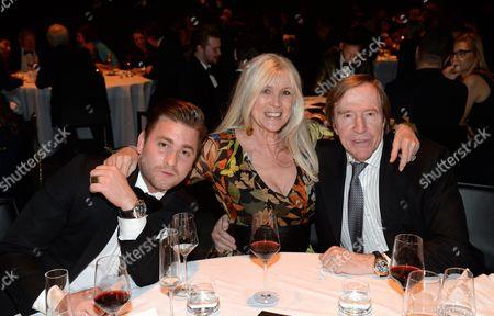 Baschi with Elvira and Gunter Netzer