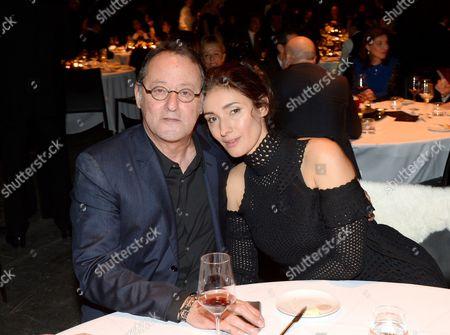 Jean Reno with Zofia Borucka