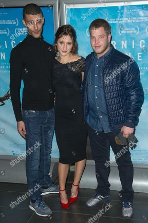 Kamel Kadri, Lola Creton, Alain Demaria