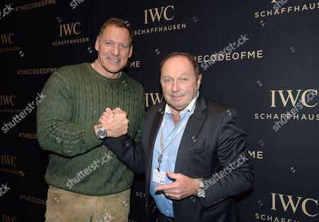 Ralf Moeller and Jochen Mass