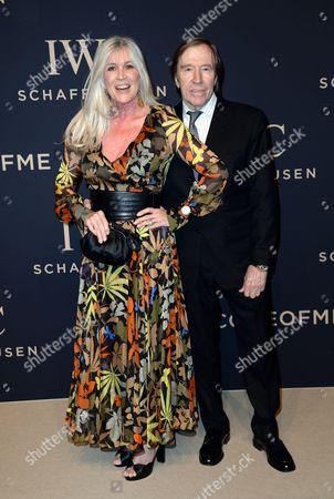 Stock Picture of Elvira and Gunter Netzer
