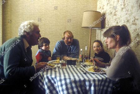 'Scab'   TV Dicken Ashworth in a general scene