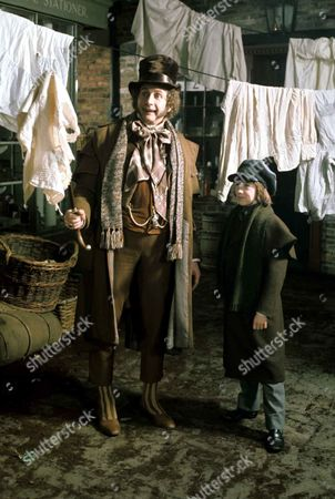 'Dickens of London'   TV Roy Dotrice and Simon Bell
