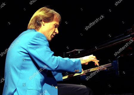 The American Romantic Pianist Richard Clayderman Performs During His Concert Late Saturday 12 February 2005 in Beirut Lebanon
