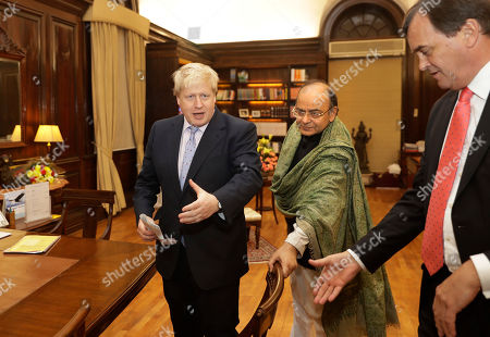 Editorial image of Britain Trade, New Delhi, India - 18 Jan 2017