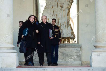 Emmanuelle Cosse and Bernard Cazeneuve