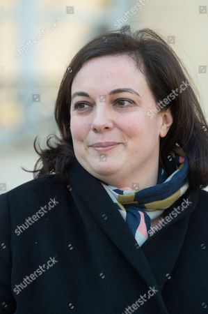 French Minister of Housing and sustainable Habitat, Emmanuelle Cosse