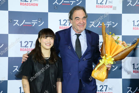 Eri Tosaka and Oliver Stone