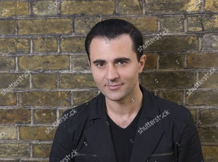 Stock Picture of Darius Campbell, singer-songwriter, and West End stage actor