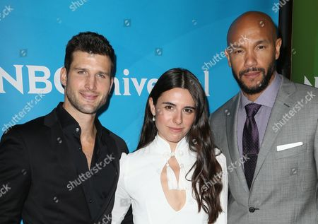 Parker Young, Marianne Randon and Stephen Bishop
