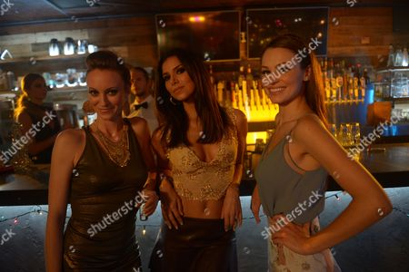 L-R Fiona Vroom, Roselyn Sanchez, Kayla Wallace