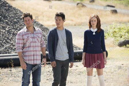 Christian Kane, and John Harlan Kim, Lindy Booth