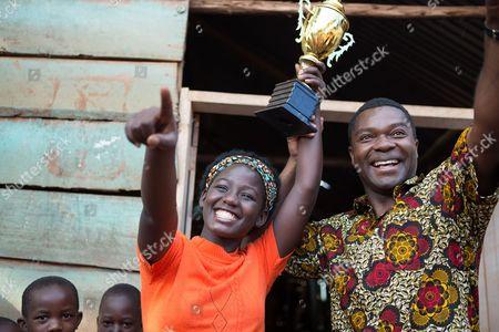 l-r Madina Nalwanga, David Oyelowo