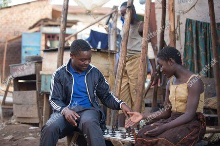 l-r David Oyelowo, Madina Nalwanga