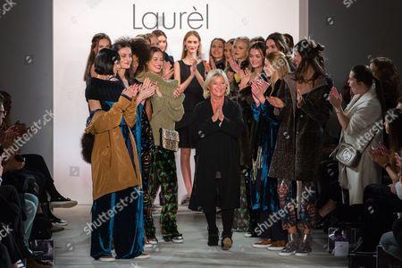Editorial photo of Laurel show, Runway, Autumn Winter 2017, Mercedes-Benz Fashion Week, Berlin, Germany  - 18 Jan 2017