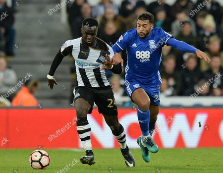 Editorial picture of Football - The Emirates FA Cup 2016/17 Third Round Replay Newcastle United v Birmingham City St. James' Park, Barrack Rd, Newcastle upon Tyne, United Kingdom - 18 Jan 2017
