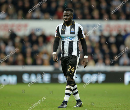 Cheik Tiote of Newcastle United during the Emirates FA Cup Third Round match replay between Newcastle United and Birmingham City played at St. James? Park, Newcastle upon Tyne on 18th January 2017