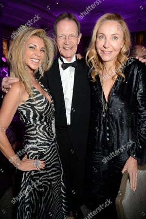 Lisa Tchenguiz, Sir Nicholas Serota, Michaela de Pury