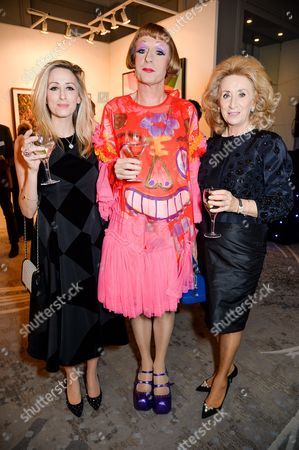 Antoinette Jackson, Grayson Perry and Lady Wolfson