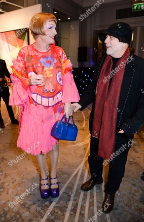 Grayson Perry and Ron Arad