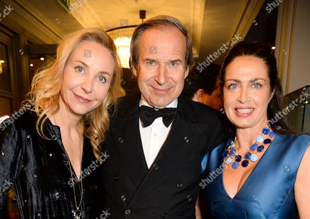 Michaela de Pury, Simon de Pury and guest