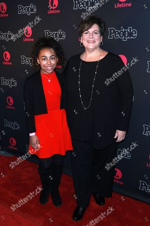 Stock Image of Grace Capeless and Jodi Capeless