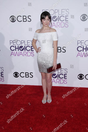 Editorial picture of 43rd Annual People's Choice Awards, Arrivals, Los Angeles, USA - 18 Jan 2017