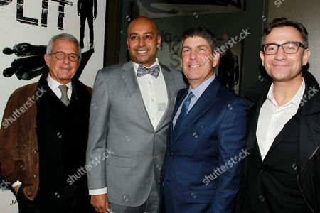 Ron Meyer, Ashwin Rajan, Jeff Shell and Josh Goldstine