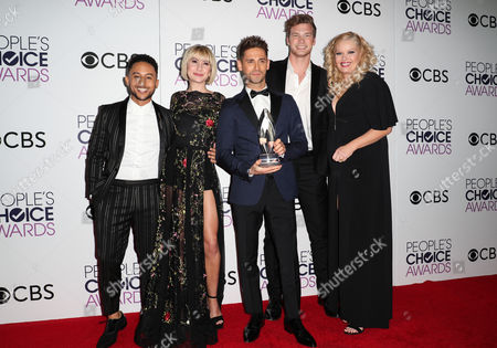 Editorial image of 43rd Annual People's Choice Awards, Press Room, Los Angeles, USA - 18 Jan 2017