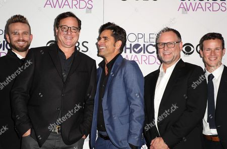 John Brotherton, Bob Saget, John Stamos, Dave Coulier and Scott Weinger