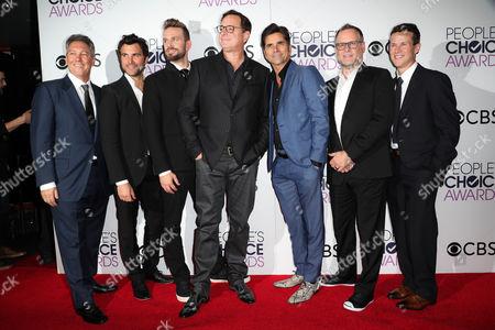 Jeff Franklin, Juan Pablo Di Pace, John Brotherton, Bob Saget, John Stamos, Dave Coulier and Scott Weinger
