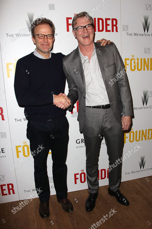 Tom McCarthy and John Lee Hancock (Director)