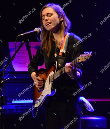 Singer songwriter Julien Baker performs at the Pabst Theater in Milwaukee, WI