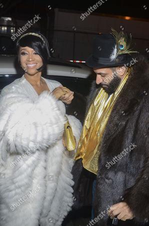 Editorial photo of 'Gatsby Affair' Birthday, New York, USA - 18 Jan 2017