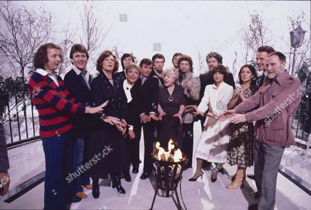 Editorial picture of London Weekend Television Winter Lineup Photocall - 1977