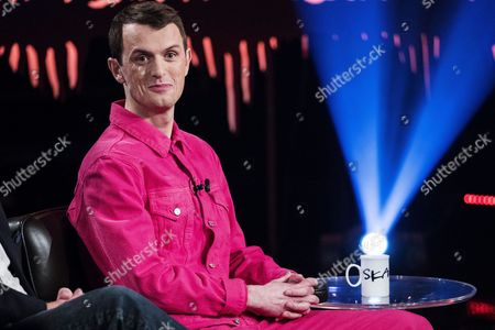Stock Image of Nils Bech, born 1981, is a musician and performance artist from Norway, known from Norwegian TV series Skam (Shame)