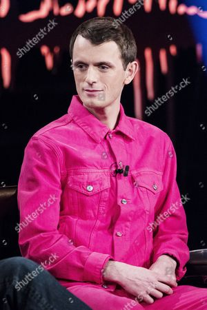 Stock Picture of Nils Bech, born 1981, is a musician and performance artist from Norway, known from Norwegian TV series Skam (Shame)