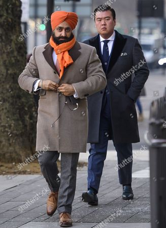 Editorial picture of Peter Singh Virdee extradition hearing, London, UK - 18 Jan 2017