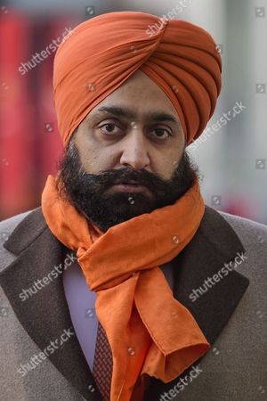 Conservative Party donor and Businessman Peter Singh Virdee arrives at Westminster Magistrates Court in London where he faces extradition to Germany