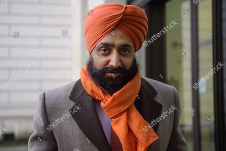 Stock Picture of Conservative Party donor and Businessman Peter Singh Virdee arrives at Westminster Magistrates Court in London where he faces extradition to Germany