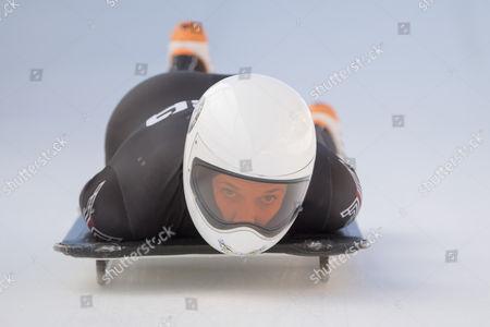 Editorial image of Skeleton World Cup in St. Moritz, St Moritz, Switzerland - 19 Jan 2017