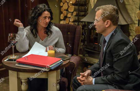 Moira Barton's, as played by Natalie J Robb, re-offered a contract by Patrick, as played by Ali Cook, and agrees to another meeting telling Ross to sell the car quickly. Patrick reveals there was an urn of ashes in the boot leading an alarmed Moira to hurriedly sign the contract and quickly head off in the hope Ross hasn't yet sold the car. Can Moira intercept the ashes before Patrick calls the police? (Ep 7737 - 1 Feb 2017)